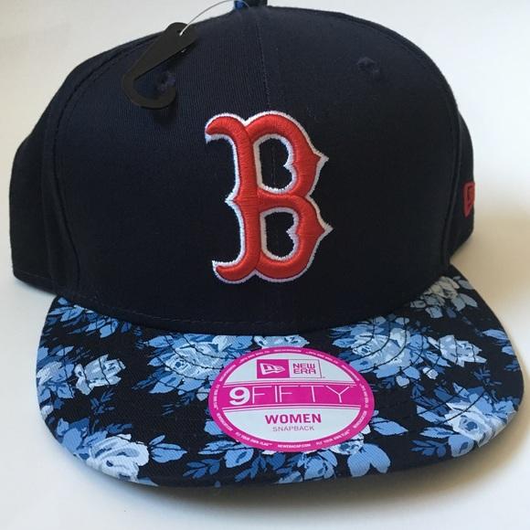 Boston Red Sox Women s Baseball Snapback - New Era d219c4fd9d85